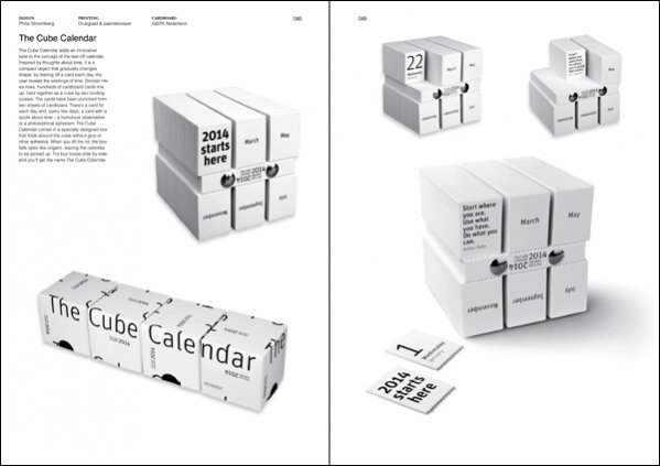 Philip Stroomberg - The Cube Calendar in The Art of Calendar Design