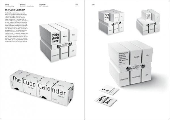 Philip Stroomberg - The Cube Calendar in The Art of Calendar Design