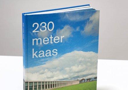 230 meter kaas, omslag