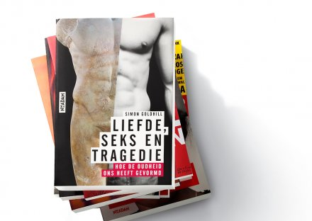 Nieuw Amsterdam, Liefde, seks en tragedie - omslag