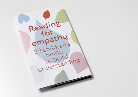 Reading for empathy brochure - voorzijde