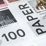 Paperzine bladen, detail