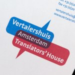 Stroomberg – Briefpapier Vertalershuis - Translator's House