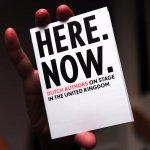 Stroomberg – Here Now. brochure, Nederlands Letterenfonds